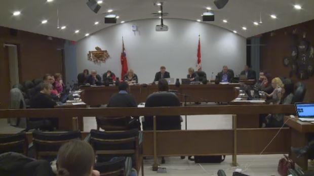Winnipeg School Division Meeting