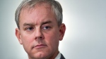 Dennis Oland attends a news briefing by his legal team in Saint John, N.B., on Tuesday, Nov. 20, 2018. THE CANADIAN PRESS/Andrew Vaughan