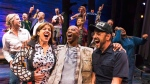 "The cast of ""Come From Away,"" are shown in a 2016 handout photo. (Matthew Murphy)"