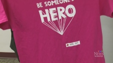 Red Cross unveils Pink Day t-shirts