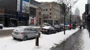 The city of Montreal has commissioned a feasibility study of eliminating all parking on a 4.5 km section of Ste. Catherine St.