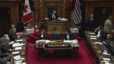 Legislature staffers suspended