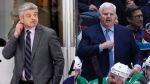 Todd McLellan and Ken Hitchcock