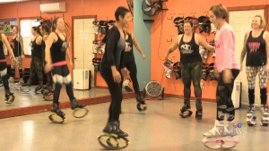 Kangoo jumping craze comes to Fredericton