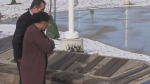 Sacred place to remember hit by thieves