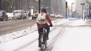 CTV Montreal: Sherbrooke cycling
