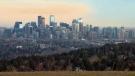 Calgary skyline - November 2018
