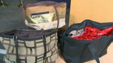 Specially lined bags - organized retail crime