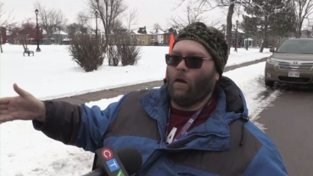 Some Monctonians already getting sick of winter weather