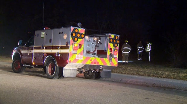 Two people were taken to hospital after they fell from Dead Man's Cliff in Edworthy Park on Wednesday, November 21, 2018.