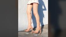 Skin heels