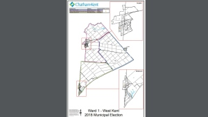 Ward 1 in Chatham-Kent. (Courtesy Municipality of Chatham-Kent)