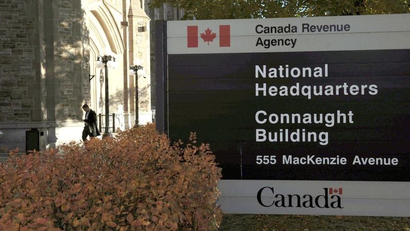 The Canada Revenue Agency headquarters in Ottawa is shown on November 4, 2011. THE CANADIAN PRESS/Sean Kilpatrick