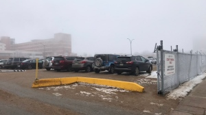 Nurses are continuously frustrated by a lack of parking around the General Hospital area (Taylor Rattray / CTV Regina)