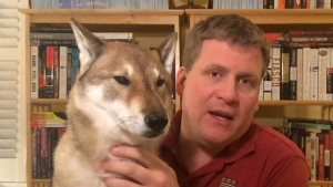 Paul Heroux and his dog, Mura, drove across North America for 12 days to visit Mura's breeder in B.C. one last time. The 10-year-old canine is diagnosed with terminal cancer.