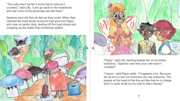 N S  girl pens picture books to help other kids with conflict