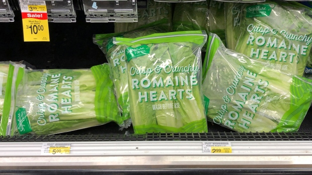 Coli cases in Canada linked to romaine lettuce jumps to 22