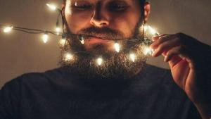 Trending: Xmas lights for your beard
