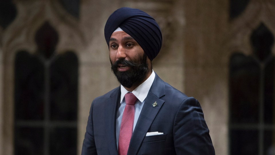 Liberal MP Raj Grewal rises in the House of Commons in Ottawa on Friday, June 3, 2016. THE CANADIAN PRESS/Adrian Wyld