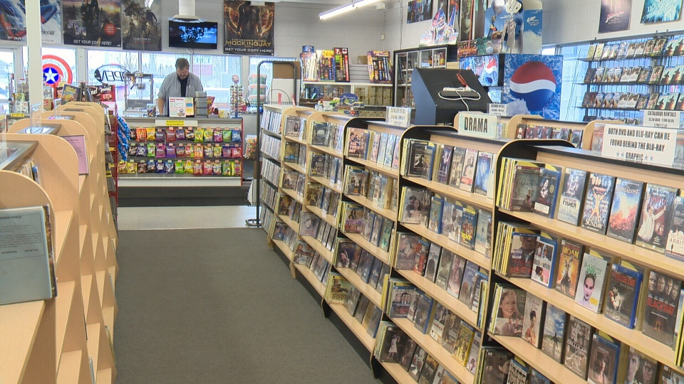 Movie World in Stony Plain is still doing well despite the rise of streaming apps.