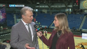 CTV Northern Ontario's Jessica Gosselin talks to VP of basketball operations for The Sudbury Five Bob Johnston about what fans can expect.