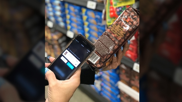 "The grocer will be rolling out a new ""shop and scan"" self-checkout app that lets people scan their items as they shop, with the goal to save customers time at checkout. (Loblaw)"