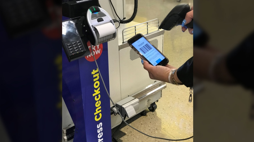 "The grocer will be rolling out a new ""shop and scan"" self-checkout app that lets people scan their items as they shop with specialized kiosks to checkout. (Loblaw)"