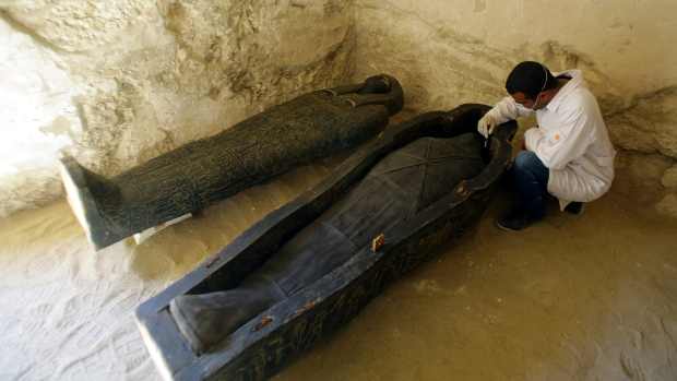 Egyptian archaeologist
