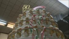 Alati Caserta cannoli cake