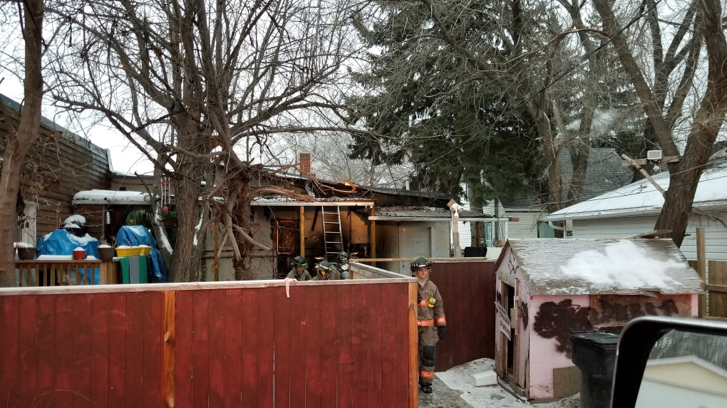 Firefighters respond to fire at 339 Avenue I North