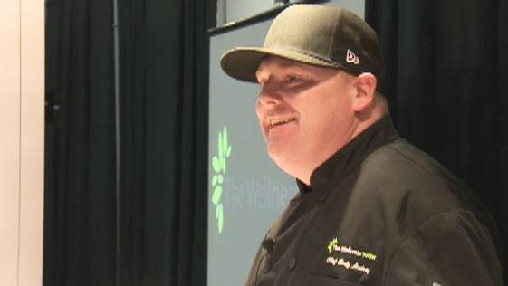 Cody Lindsay at the Cannabis and Hemp Expo