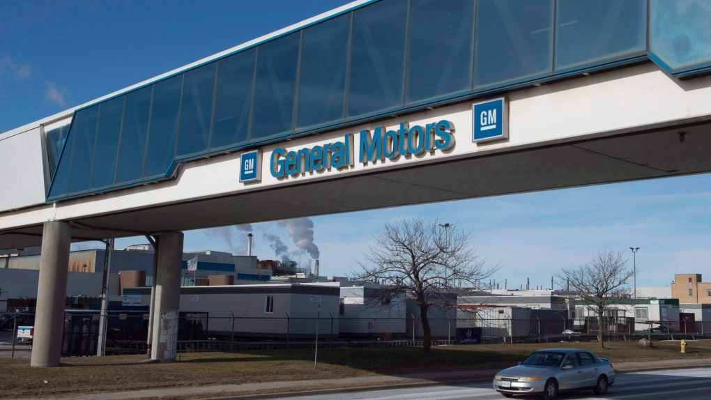 General Motors in Oshawa