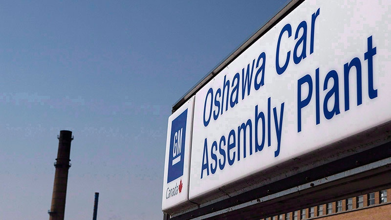 GM working to retrain employees affected by Oshawa plant