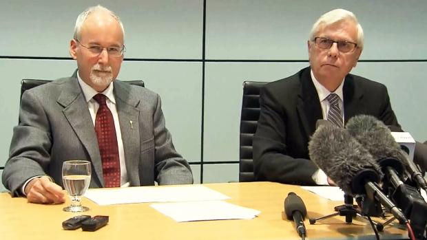 Suspended B.C. Legislative Assembly members speak