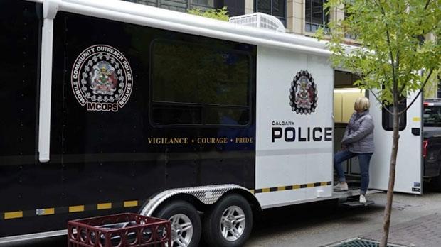 Calgary police, Mobile Community Outreach Police S