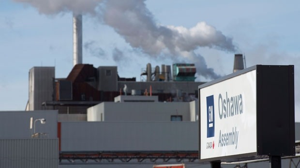 1,200 GM Oshawa workers temporarily laid off