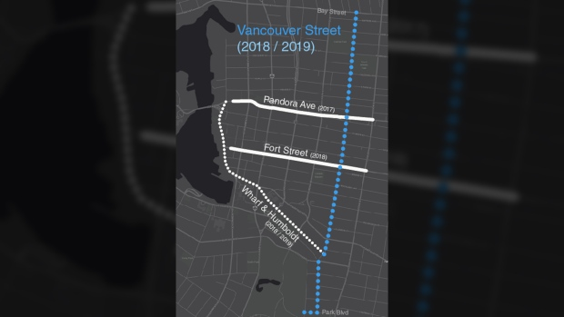 vancouver street bike lanes