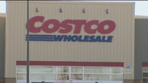 The Costco outlet on McGillvray Blvd. in Winnipeg has been fined under current Manitoba public health orders. (File Image)