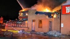 Fire at Ottawa Wendy's