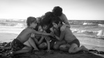 """Marco Graf as Pepe, left to right, Daniela Demesa as Sofi, Yalitza Aparicio as Cleo, Marina De Tavira as Sofia, Diego Cortina Autrey as Tono, Carlos Peralta Jacobson as Paco are shown in a scene from """"Roma"""" written and directed by Alfonso Cuaron in this handout photo. THE CANADIAN PRESS/HO, Carlos Somonte, Netflix *MANDATORY CREDIT*"""
