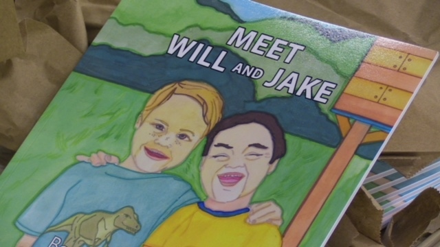 Meet Will and Jake: Best Buds Forever, a new book from Homies with Extra Chromies is seen on Tuesday, Nov. 27, 2018. (Scott Miller / CTV London)