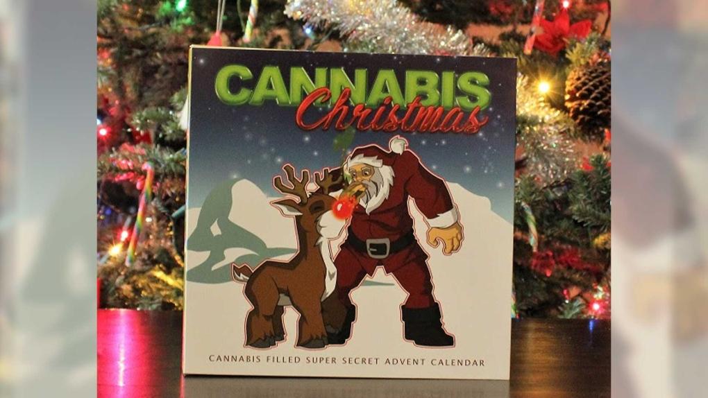 Cannabis Christmas advent calendar