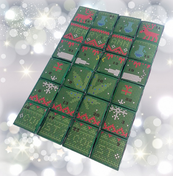 Coast2Coast's cannabis advent calendar is shown in an image from the company's website.