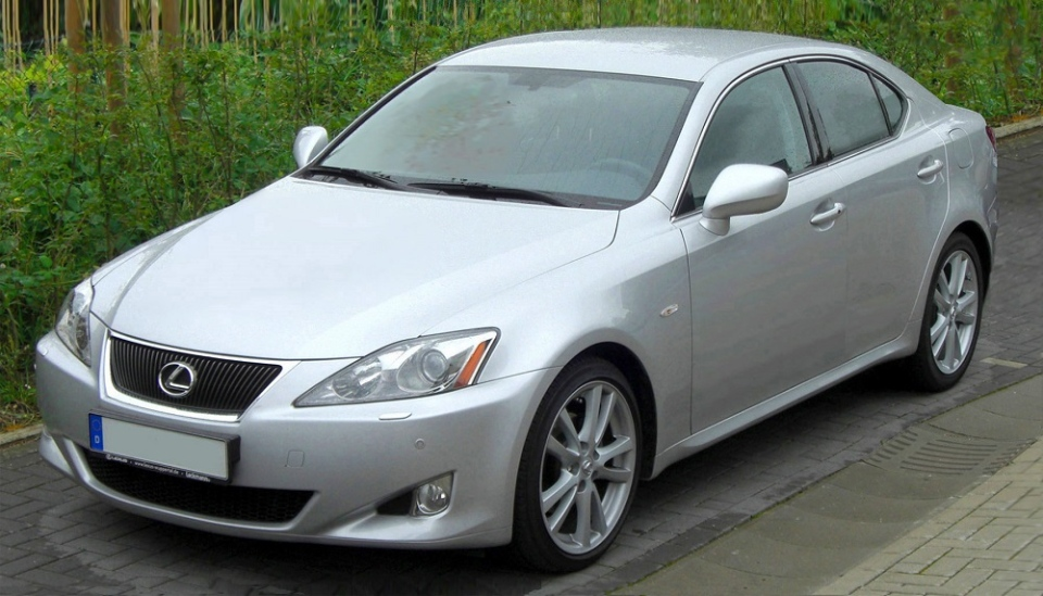 Mounties are sharing a photo of the couple's stolen 2008 Lexus IS250 in hopes someone will see it and call it in. (Handout)