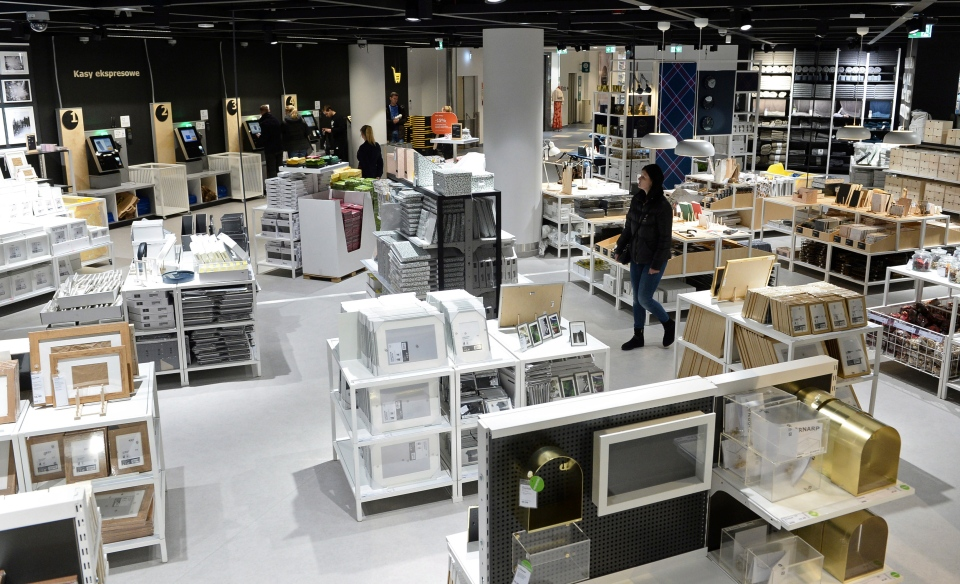 In this Thursday Nov. 22, 2018 photo, people visit a new Ikea store, in Warsaw, Poland. (AP Photo/Alik Keplicz)