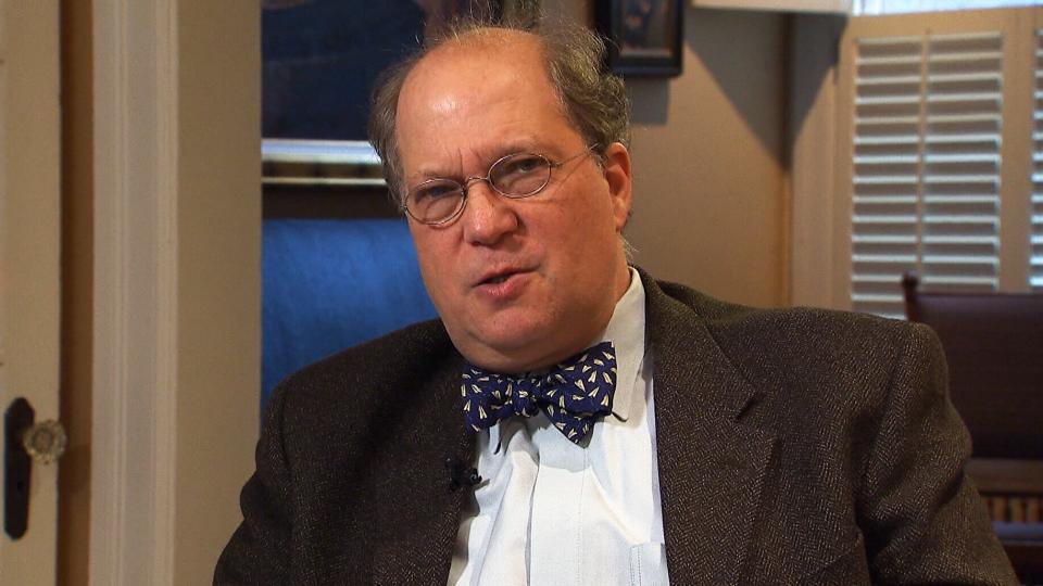 Paul Rosenzweig speaks to CTV's Joy Malbon in Washington, D.C.