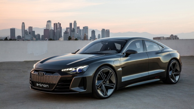 Audi Unveils Concept For E Tron Gt A Fully Electric Coupe Ctv