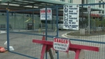The keys to the building were supposed to be handed over on December 3, but hospital officials say that will not happen.