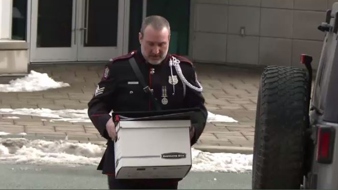 Sgt. Mark Smith was responsible for collecting the forensic evidence in the murder investigation.