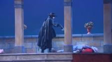 Zorro Soars on Stage